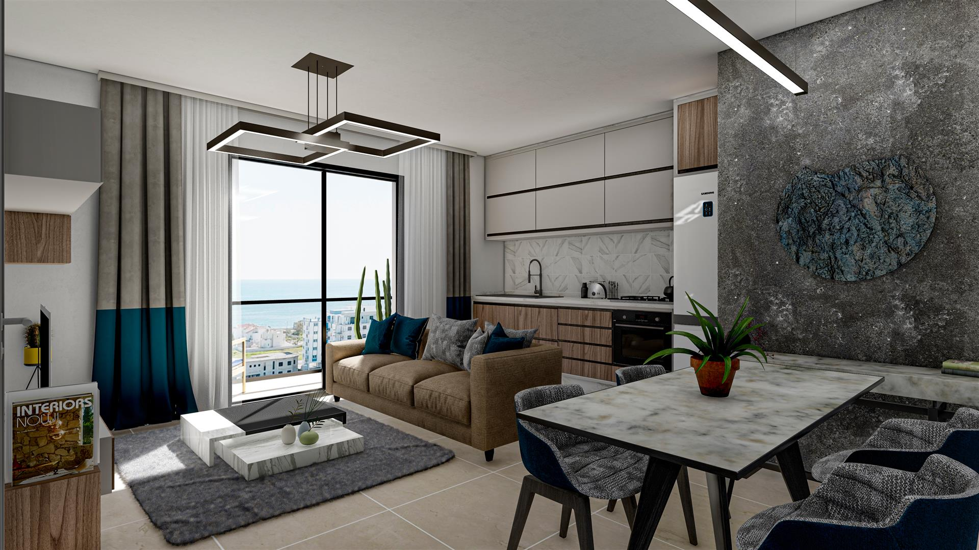 Amazing 1 bedroom seaview apartment
